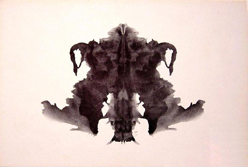 карточки - проективный тест Роршаха